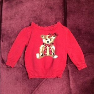 The Children's Place Winter Teddy Bear Sweater